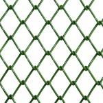 Tela Alambrado Revestido em PVC Verde.